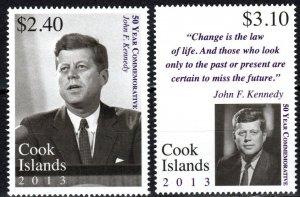 Cook Islands #1476-7  MNH CV $9.00 (S10745)