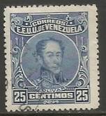 VENEZUELA 276a VFU THIN Y501