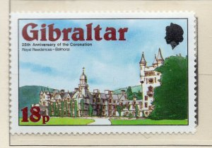 Gibraltar 1978 QEII Early Issue Fine Mint Unmounted 18p. NW-99275