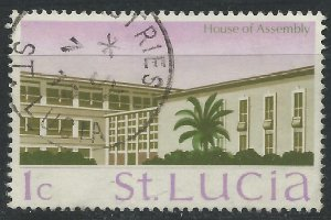 St Lucia 1970 - 1c Assembly building - SG276 used