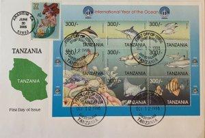HNLP Hideaki Nakano 3914 Little Mermaid on Tanzania International Year of Ocean