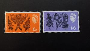 Great Britain 1965 The First Commonwealth Arts Festival Mint