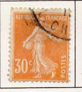 France 1903 Early Issue Fine Used 30c. 249568