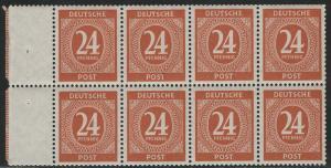 Germany AM-Post Scott # 544a, mint nh, se-tenant, booklet pane, Mi# HBl123