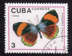 Cuba 3103 - Cto-nh - Callithea saphhira Butterfly