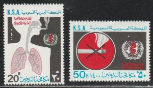 Saudi Arabia #792-793 MNH Full Set of 2 cv $6