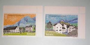 Liechtenstein 2020 Village views set MNH**