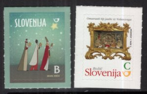 Slovenia 1099-1100 Christmas MNH VF