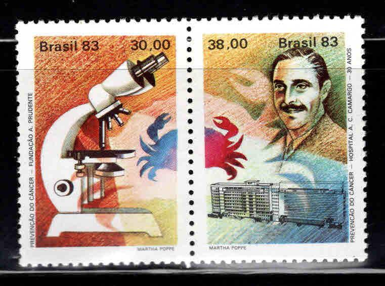 Brazil Scott  1848-1849a MNH** pair