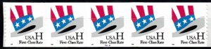 USA PNC SC# 3265 HAT H RATE $0.33c PL# 2222 SELF ADHESIVE- PNC5 MNH