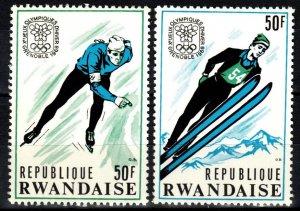 Rwanda #249A-B MNH CV $7.00 (SU8552)