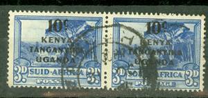 Kenya Uganda Tanganyika 87 used CV $10