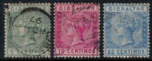 Gibraltar #29-30,2  CV $2.50