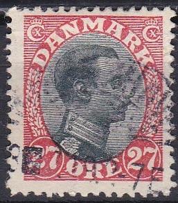 Denmark 110 used (1918)