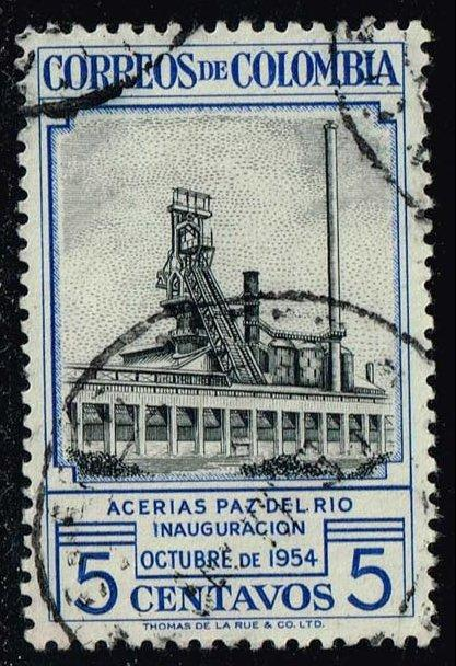 Colombia #633 Steel Mill; Used (0.25)