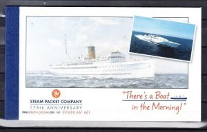 Isle of Man Scott 1095f Mint NH booklet (Catalog Value $35.00)