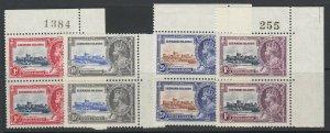 Leeward Islands, Scott 96-99 (SG 88-91), MNH pairs