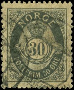 Norway Scott #55 Used