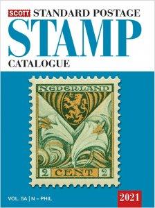 Scott Stamp Catalog 2021 Volume 5A & 5B COUNTRIES N-SAMOA  Reference Book TKC