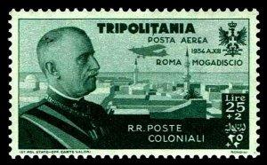 1934 Tripolitania #CB10 Air Post Semi-Postal - OGNH - VF/XF - CV$57.78 (E#4167)