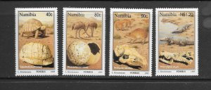 NAMIBIA #779-82  FOSSILS  MNH