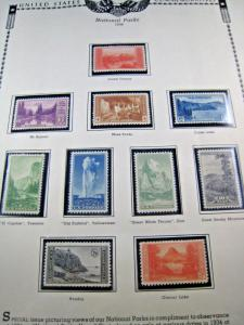 U.S.-SCOTT #740-749 - NATIONAL PARKS SERIES - COMPLETE SET OF 10  (kbus4)