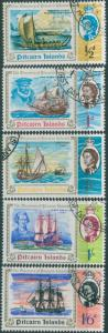 Pitcairn Islands 1967 SG64-68 Discovery ships set FU