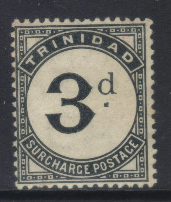 TRINIDAD 1905-1906 POSTAGE DUE SGD12 MH CAT £14