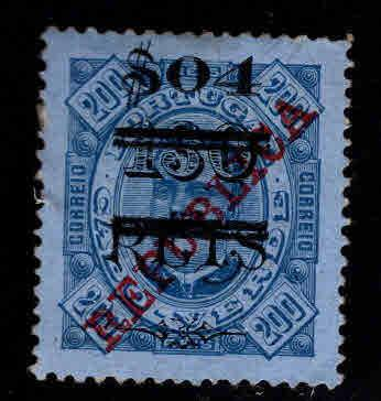 Cabo or Cape Verde Scott 204 MH* surcharged stamp