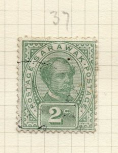 Sarawak 1899 Early Issue Fine Used 2c. 276143
