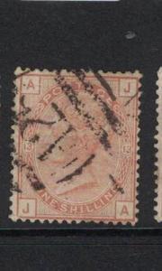 Malta GB Used Abroad SG Z81 Plate 13 VFU (6drs)