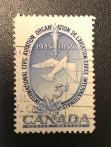 Canada # 354 Used