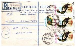 Malaya, Postal Stationary, Birds