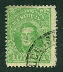 Uruguay 1913 #201 U  SCV (2020) = $0.25