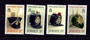 Jersey 69-72 MNH 1972 Royal Jersey Militia