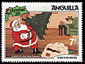 Anguilla 457, MNH, Disney The Night Before Christmas 1981