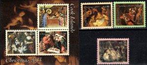 Cook Islands #1478-81  MNH CV $19.25 (S10746)