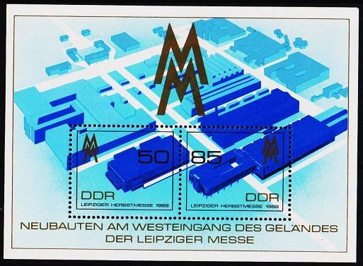 Germany(DDR).1989 Miniature Sheet. S.G.MSE2973 Unmounted Mint