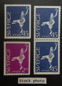 Sweden 714-16. 1967 Field Ball Championships, NH