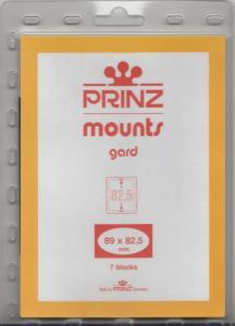PRINZ BLACK MOUNTS 89X82.5 (7) RETAIL PRICE $6.50