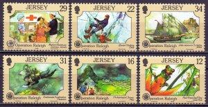 Jersey. 1988. 447-52. Safe environment. MNH.