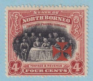 NORTH BORNEO B4  MINT  HINGED  OG *  NO FAULTS EXTRA FINE !