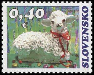 Slovakia. 2011. Easter 2011 - Folk Motive (MNH OG) Stamp