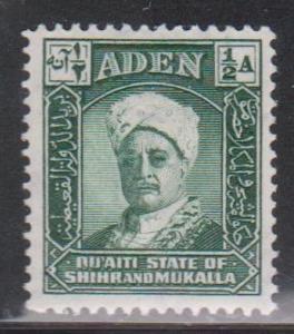 ADEN - MUKALLA Scott # 1 MH - Sultan Sir Saleh bin Ghalib a Qu'aiti