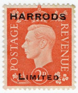 (I.B) George VI Commercial Overprint : Harrods Ltd