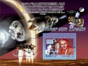 [1000 28] GUINEA 2007 - SPACIAL VON BRAUN - destocking stamps price  MNH **