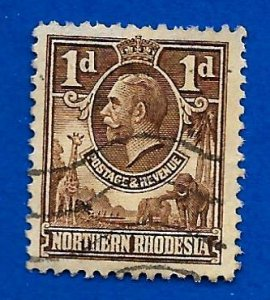 Northern Rhodesia 1925 - U - Scott #2 *