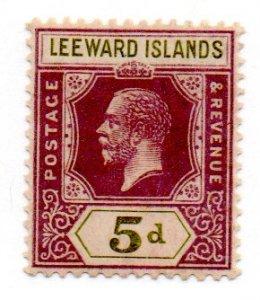 LEEWARD ISLANDS 74 MH SCV $2.75 BIN $1.40 ROYALTY