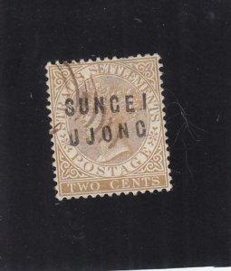 Malaya Federated States: Sungei Ujong: Sc #19, Used (35503)