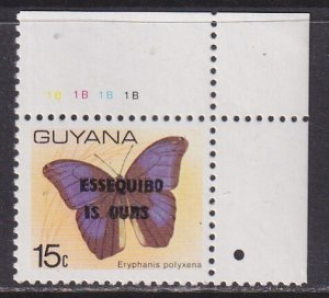 Guyana (1981) #391 MNH; Butterfly OVP